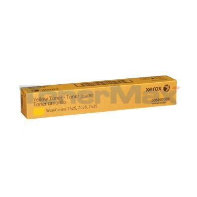 XEROX WORKCENTER 7425 TONER YELLOW